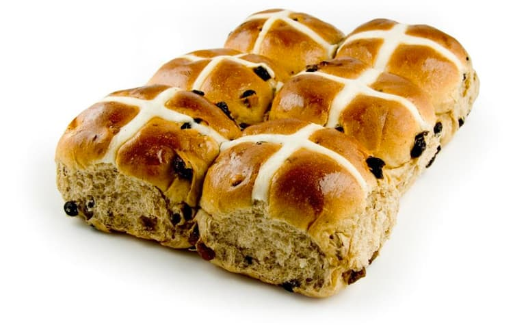 wholesale hot cross buns perth