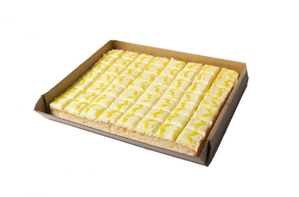 Lemon Ginger Slab Cake